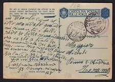 POSTA MILITARE 1943 Franchigia da PM 168 a Penna Sant'Andrea (M7)