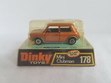 Dinky #178 - Mini Clubman - Diecast Model in Bubble Pack Box