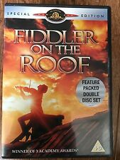 Topol FIDDLER ON THE ROOF ~ 1971 Musical Classic ~ 2-Disc Special Edition UK DVD