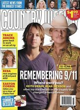 Country Weekly magazine Remembering 9/11 Connie Smith Reba McEntire Vince Gill