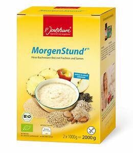 P.Jentschura Morgenstund 2000g BIO (15,75 EUR/kg) + Jentschura Probenset*