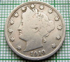 UNITED STATES 1910 5 CENTS - LIBERTY NICKEL