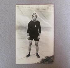 Vintage 1930s Bicycle Velodrome Track Racer Photograph Postcard Germany Stayer