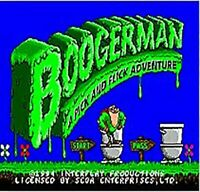 Boogerman: Sega Cartridge Game MD C25 NTSC-USA 16 Bit Megadrive Genesis