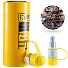 Cylindre hydraulique RAM Hydraulique creux 10 tonnes 100mm vérin de levage