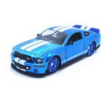 JADA 1:24 BIGTIME MUSCLE 2008 Ford Shelby GT-500KR Diecast Metal model car blue
