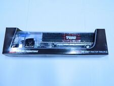 "DCP #33960 ""TMC"" Peterbilt 389 w/Flat Bed Trailer & Load 1:64"