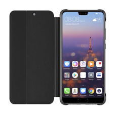 Genuine Official Huawei P20 Pro Smart View Flip Cover Case Black - 51992407