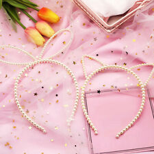 Make up Faux Cat Ear Headband Rabbit Cat Ear Hair Hoop Sweet Hair Accessories