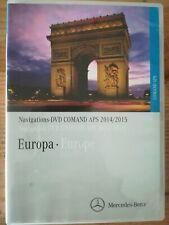 MERCEDES Navigation DVD COMAND APS  EUROPA 2015  A B C CLK G GL M R Vito Viano