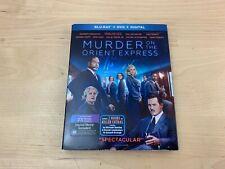 Murder on the Orient Express (Blu-ray/DVD, 2018, 2-Disc Set) Johnny Depp New