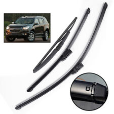 "22""18""12"" Front Rear Windshield Wiper Blades For Chevrolet TrailBlazer RG 12-19"