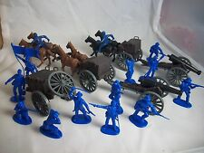 Classic Toy Soldiers, Large Union Artillery group 1/32 Limber, caisson, cannon +
