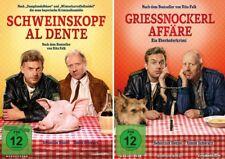 2 DVDs * EBERHOFER - SCHWEINSKOPF AL DENTE+GRIESSNOCKERLAFFÄRE SET # NEU OVP %
