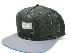 Crooks & Castles Camoflage Sportek Snapback Cap Hat Digital Camo  OSFM