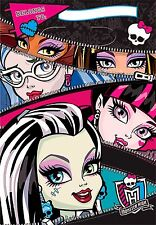 Monster High Treat Loot Bags 8pcs Party Favors Supplies