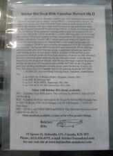 Belcher Bits 1/48 BD4 Canadian Harvards Decal Sheet