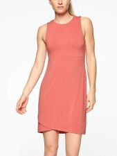 Athleta La Palma Dress, S Small Smoked Salmon Packable Super Soft #210924