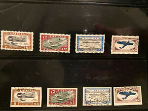 Latvian First Independence Semipostal Airmail High Value Used