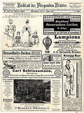 Carl Schliessmann Kastel- Mainz Garten-Ausstattung Westminster- Hôtel Berlin1893