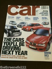CAR MAGAZINE - CARS YOU'LL BE DRIVING NEXT YEAR - OCT 2000