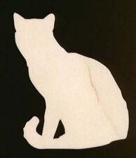 """Bengal Cat Shape 4"""" Natural Craft Wood Cutout #343-4"""