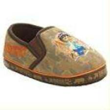 NWT-Toddler Boys Nick Jr. Go Diego Go Brown Microterry Slippers-size 5/6