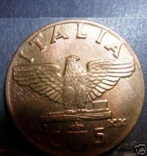 5 centesimi 1942  FDC assoluto
