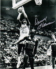 DARNELL HILLMAN DR DUNK ABA INDIANA PACERS AUTOGRAPHED 8 X10 PHOTO NETS KINGS 20