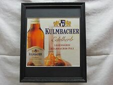 KULMBACHER EDELHERB    BEER SIGN  #778