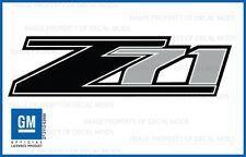 07 - 13 Chevrolet Silverado Z71 decals - FB - 1500 2500 GM HD stickers Chevy Bed