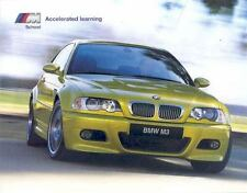2002 BMW M3 M5 Accelerated Learning Brochure mw9481-DQ4VAH