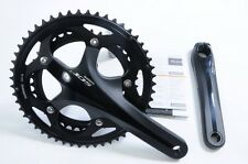 SHIMANO 105 FC-5700 10 SPEED DOUBLE CHAINSET 52/39T CHAINWHEEL SET BLACK 170mm