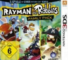 Nintendo 3DS  Rayman and Rabbids Family Pack Sehr guter Zustand