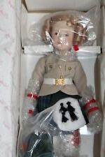 "Wee Willie Winkie Shirley Temple Silver Screen Doll Danbury Mint 14"" W/Box"