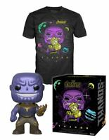 Avengers Infinity War POP! & Tee Box Thanos Funko Exclusive Pop & T-shirt XL