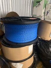BELDEN 10GX13 0041000, 1000ft/305M, 4PR. 23AWG (Blue) Spool 1000ft