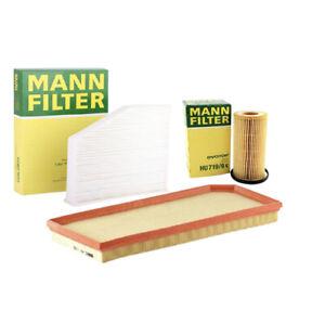 MANN-FILTER Air Oil Cabin Filters fits VW PASSAT 3C2 2.0 FSI