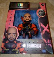 "Jada Toys 4"" Suicide Squad Metals Diecast Action Figure Deadshot M115 97946"