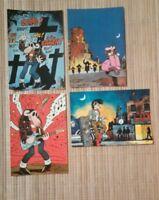 4 carte postale Jano Kebra Les Humanoïdes associés Métal Hurlant