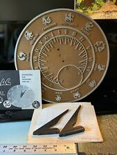 """Sundial, Zodiac, 1967 In Excellent Condition- Has Paper Work With It 12.5 """""""