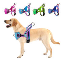 Reflective No Pull Pet Dog Vest Harness Soft Mesh Front Clip for Small Large Dog