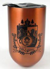 Otto's Granary VTG Travel Coffee Cup Mug Aluminum Lubbock TX