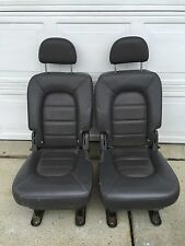 2002 FORD EXPLORER OEM 2nd Row Seats Dark gray Buckets USED