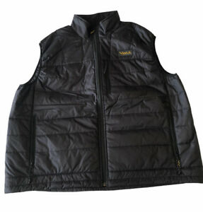 Volt Resistance Vest Heated No Charger/Batteries Black Yellow Winter Warm