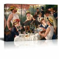 "Luncheon of the Boating Party by Pierre-Auguste Renoir-Canvas Wall Art-24"" x 36"""