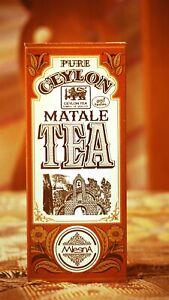 MLESNA FLAVORE PURE CEYLON TEA BLACK TEA MATALE Sri Lankan TEA 50g
