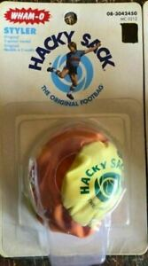 WHAM-O Styler Hacky Sack The Official Footbag Orange Yellow New