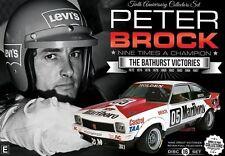 The Peter Brock - Nine Times A Champion - Bathurst Victories (DVD, 2016, 9-Disc Set)
