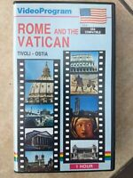 Rome & The Vatican USA compatible 1 hour VHS TV tape vacation educational Italy